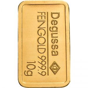 Goldbarren, 10 g, diverse Hersteller