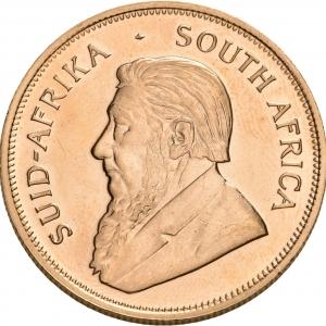 Südafrika, 1 oz Krügerrand, div. meist ältere Jahrgänge