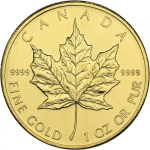 Kanada, 1 oz Maple Leaf, div. Jahrgänge