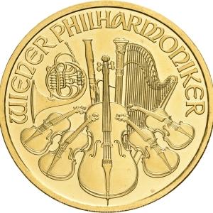 Österreich, 1 oz Philharmoniker, div. Jahrgänge