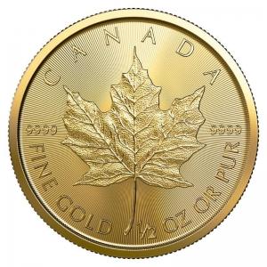 Kanada, 1/2 oz Maple Leaf, div. Jahrgänge