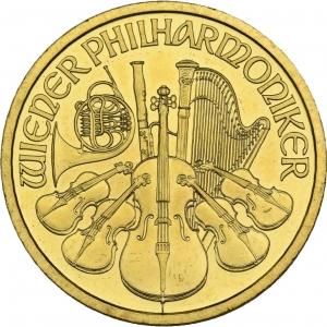 Österreich, 1/2 oz Philharmoniker, div. Jahrgänge