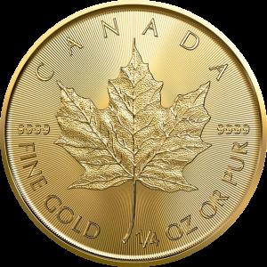 Kanada, 1/4 oz Maple Leaf, div. Jahrgänge