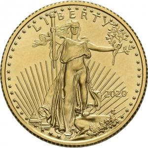 USA, 1/4 oz American Eagle, div. Jahrgänge