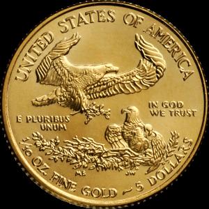 USA, 1/10 oz American Eagle, div. Jahrgänge