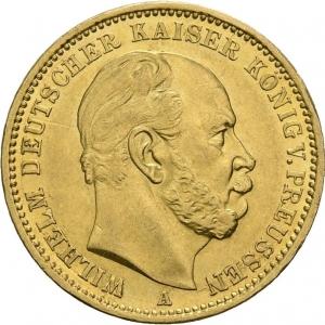 Preußen, 20 Mark 1872-1873, J. 243