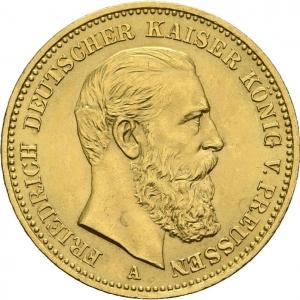 Preußen, 20 Mark 1888