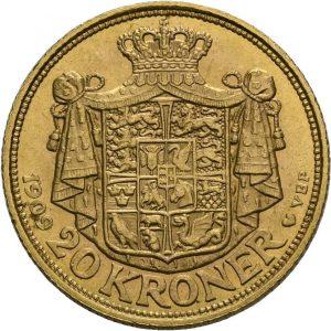 Dänemark, 20 Kroner 1906-1912