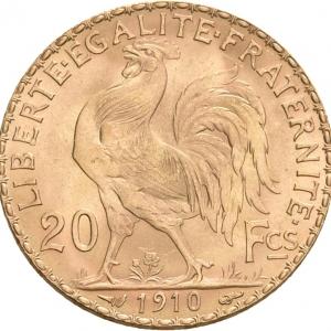 Frankreich, 20 Francs 1871-1914