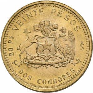 Chile, 20 Pesos 1926-1980