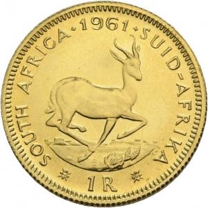 Südafrika, 1 Rand 1961-1983