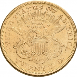USA, 20 Dollars 1850-1907 (Double eagle)