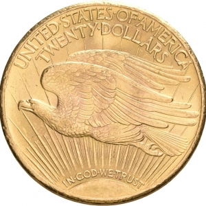 USA, 20 Dollars 1907-1933 (Double Eagle)