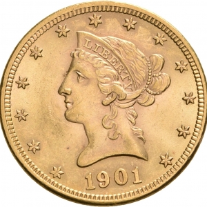 USA, 10 Dollars 1879-1907