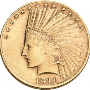 USA, 10 Dollars 1907-1933