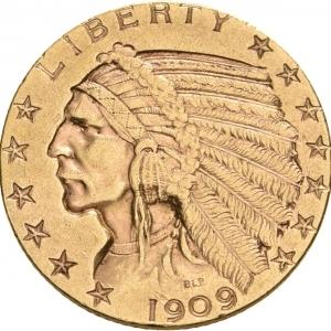 USA, 5 Dollars 1907-1933
