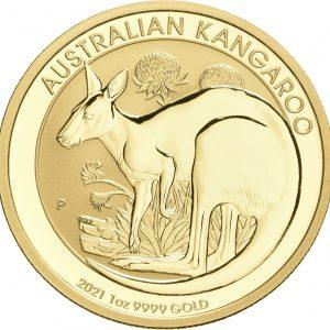 Australien, 1 oz Känguru, div. Jahrgänge