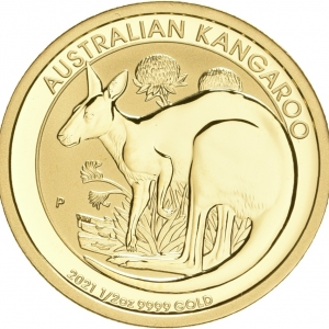 Australien, 1/2 oz Känguru, div. Jahrgänge