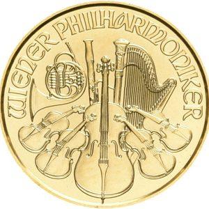 Österreich, 1/10 oz Philharmoniker, div. Jahrgänge