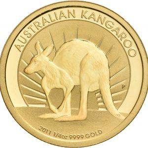 Australien, 1/4 oz Känguru, div. Jahrgänge