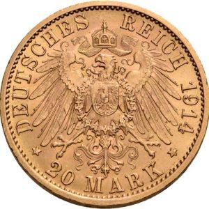 Preußen, 20 Mark 1913-1914, J. 253