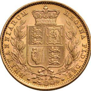 Großbritannien, 1 Sovereign 1838-1885