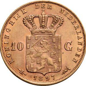 Niederlande, 10 Gulden 1897