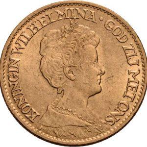 Niederlande, 10 Gulden 1898-1917