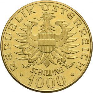 Österreich, 1000 Schilling 1974 (Babenberger)