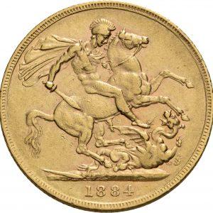 Großbritannien, 1 Sovereign 1852-1901