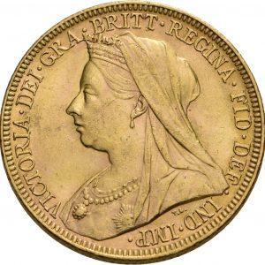 Großbritannien, 1 Sovereign 1893-1901