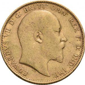 Großbritannien, 1 Sovereign 1902-1910