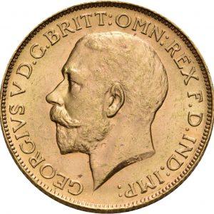 Großbritannien, 1 Sovereign 1911-1932, div. Münzstätten