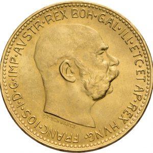 Österreich, 20 Kronen 1915 (Neuprägung)