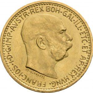 Österreich, 10 Kronen 1912 (Neuprägung)