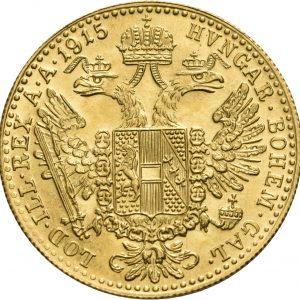 Österreich, 1 Dukat 1915 (Neuprägung)