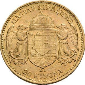 Österreich-Ungarn, 20 Corona 1892-1916