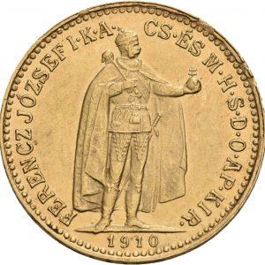 Österreich-Ungarn, 10 Corona 1892-1914