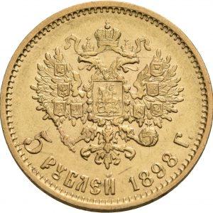 Russland, 5 Rubel 1897-1911
