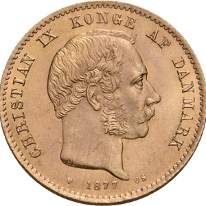 Dänemark, Christian IX., 20 Kroner