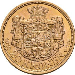 Dänemark, Frederik VIII., 20 Kroner