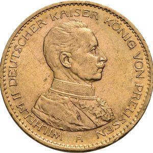Preußen, Wilhelm II., 20 Mark 1913-1915, J.253